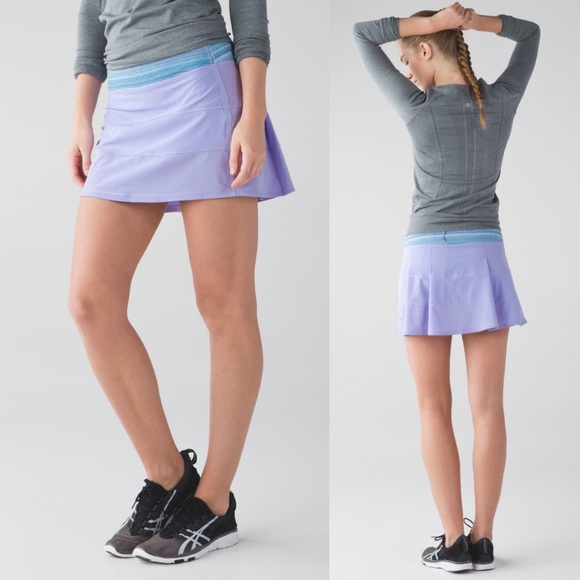 Lululemon Pace Rival Skirt II Lilac Purple